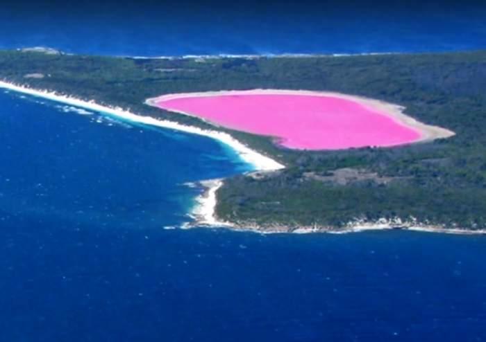 FOTO / Imaginile cu un lac roz care te pun pe gânduri. Este un mit sau realitate?