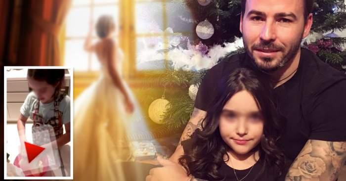 Ce prinţesă are Adrian Cristea! Iată ce poate să facă fiica fotbalistului, la numai 8 ani! / VIDEO EXCLUSIV
