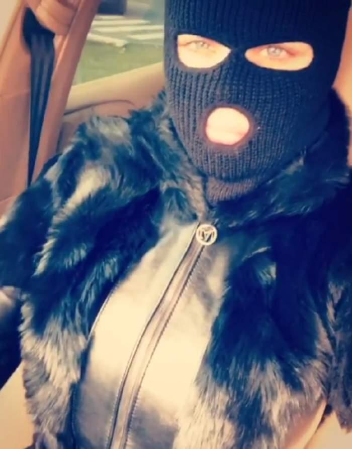 VIDEO / Bianca Drăguşanu, apariţie dubioasă! S-a filmat aşa cum nu ai mai văzut-o niciodată