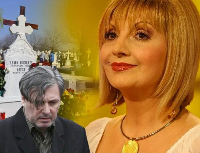 """Cine se va ocupa, de Crăciun, de mormântul Ilenei Ciuculete? Cornel Galeș fuge din România, dar și-a făcut """"treaba"""""""