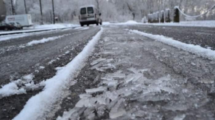 Cod GALBEN de ninsori și polei în mai multe județe din țară! Mare atenție cum conduceți