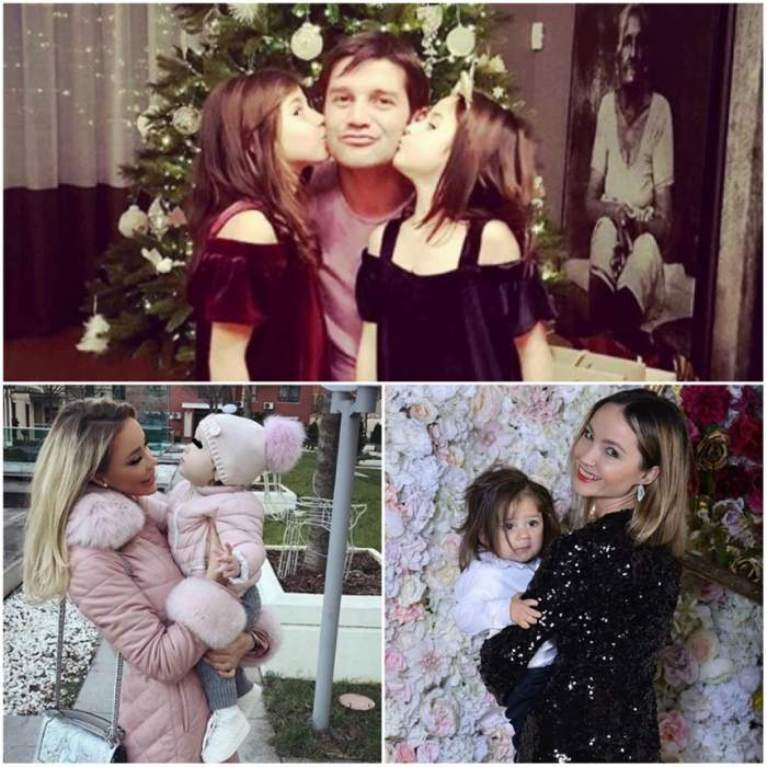 FOTO / Cum îl aşteaptă copiii vedetelor pe Moş Crăciun! Imaginile cu micuţii sunt adorabile