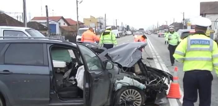 Accident grav pe Centura Capitalei! Intervenţie de ultimă oră a echipajelor de prim-ajutor