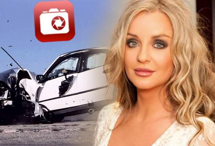 "Tania Budi, accident cumplit de circulație! ""Mașina s-a făcut acordeon"""