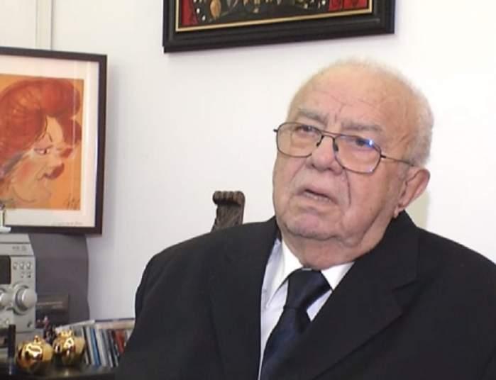 Alexandru Arşinel a avut un an plin de obstacole. Care este starea de sănătate a soţiei sale şi ce îşi doreşte în 2018
