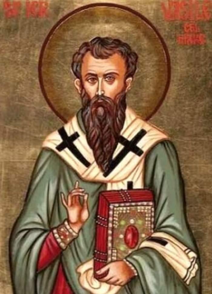Rugăciunea Sfântului Vasile Cel Mare, sărbătorit pe 1 Ianuarie. Te ajută la sănătate și te ferește de primejdii
