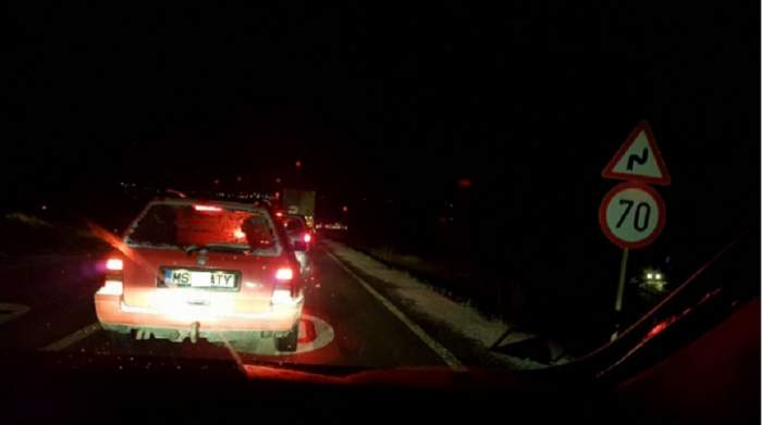 FOTO / Accident grav în Sighișoara! Un autoturism și un microbuz s-au ciocnit