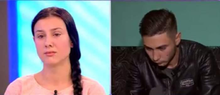 VIDEO / Mămică de 16 ani, lacrimi şi suspine pentru bebeluşul de 3 luni! Tânăra tremură de dor după ce tatăl i-a furat fetiţa