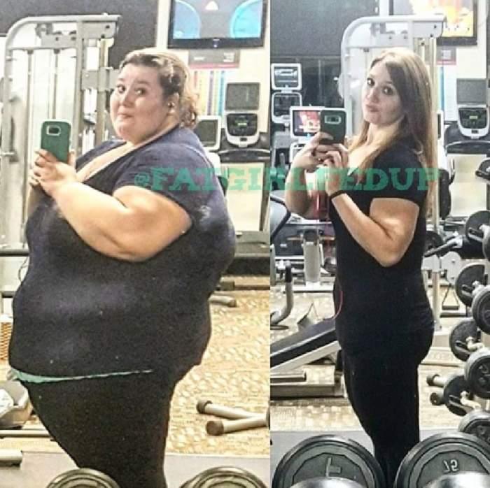 """FOTO / A slăbit 137 de kilograme într-un an şi jumătate, iar acum dezvăluie secretul! """"Nu mi-am operat stomacul"""""""