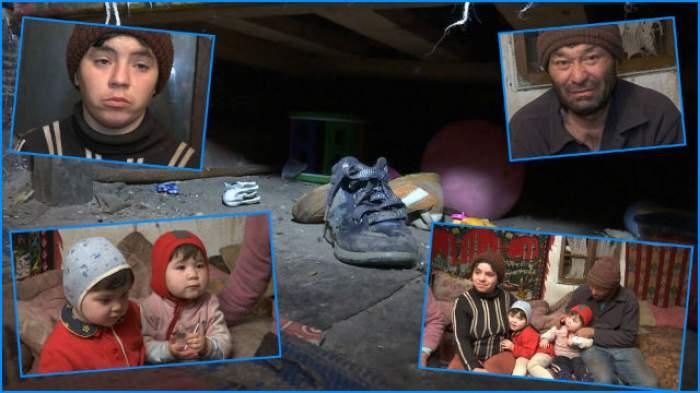 VIDEO / Surioarele îngropate în mizerie şi sărăcie respiră aburii alcoolului. Poveste sfâşietoare!