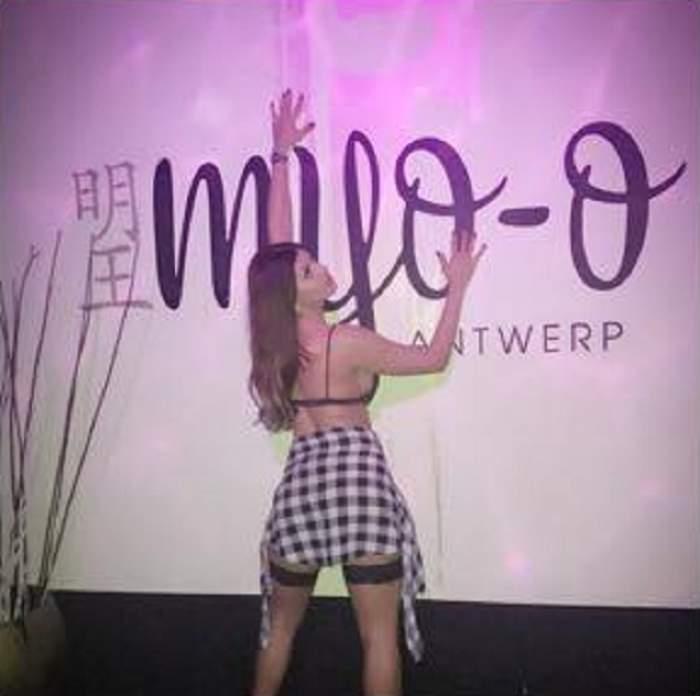 S-a reapucat de striptease! Ce face, pentru bani, cea mai bună prietenă a lui Beyonce de România