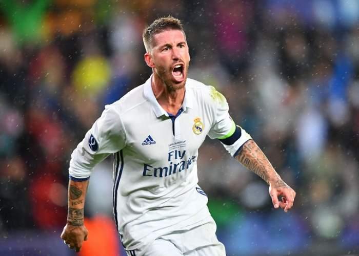 Fundaşul golgheter a lovit din nou! Sergio Ramos a dus-o pe Real Madrid pe primul loc în Spania! / VIDEO