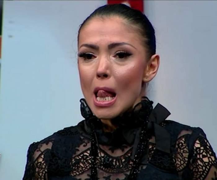 FOTO / Andreea Mantea, înecată în lacrimi de durere, în direct! Abia şi-a mai găsit cuvintele despre moartea Ilenei Ciuculete