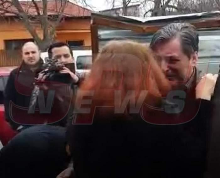 Cornel Galeş, prăbuşit de durere!  Imagini sfâşietoare cu soţul Ilenei Ciuculete / VIDEO PAPARAZZI