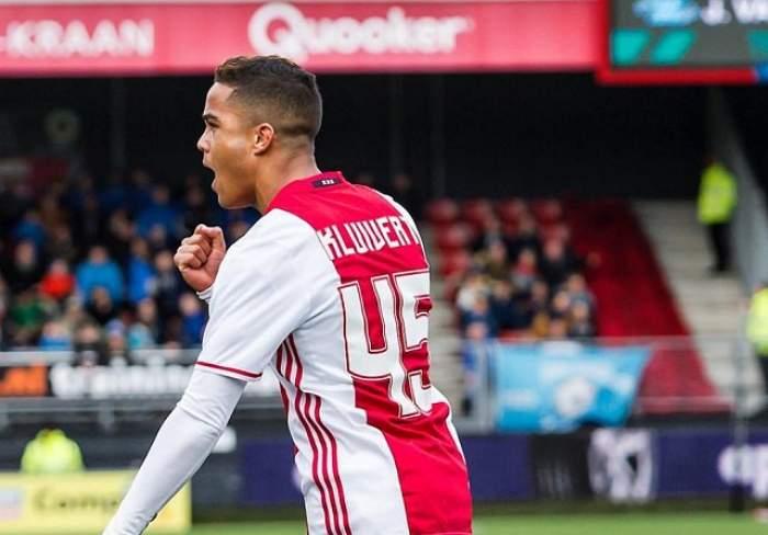 Pe urmele tatălui! Fiul lui Patrick Kluivert a înscris primul gol pentru Ajax Amsterdam! / VIDEO
