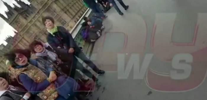 VIDEO / Imagini exclusive surprinse la 5 minute de la atentatul de la Londra!