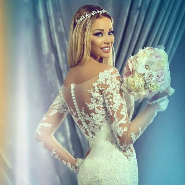 De ziua ei, Bianca Drăguşanu, apariţie hot într-o rochie scurtă şi transparentă! Sânii şi dinţii blondei au atras toate privirile