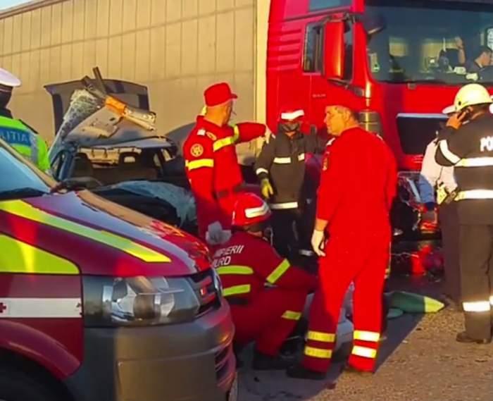 FOTO / Tragedie în Săptămâna Mare! Un preot a murit într-un accident violent