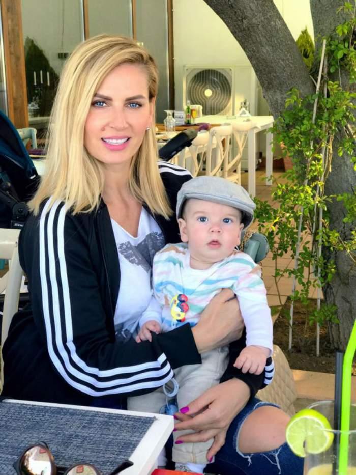 VIDEO / Andreea Bănică ştie deja ce meserie va avea fiul ei