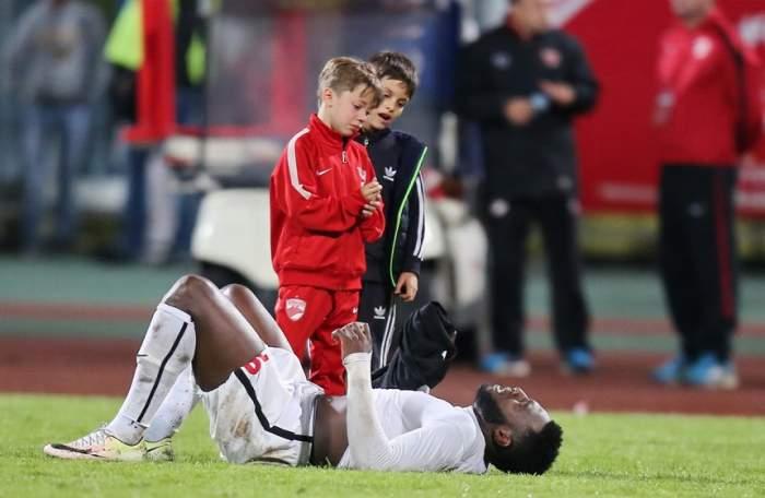 """Mesajul disperat al văduvei lui Patrick Ekeng: """"Dinamo mi-a omorât soţul, iar apoi l-a uitat"""""""