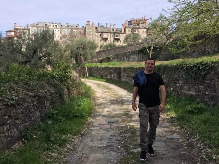 Daniel Buzdugan, mărturisiri neaşteptate! S-a întâlnit cu fiul unor vedete care e acum călugăr pe Muntele Athos