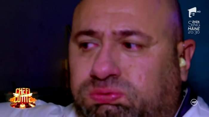 VIDEO / Cătălin Scărlătescu, în lacrimi la TV! A ieşit afară din platou