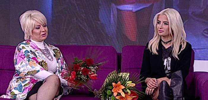 VIDEO / Calina, apariţie de FATĂ REA! Cum a venit fata Catincăi Roman la TV