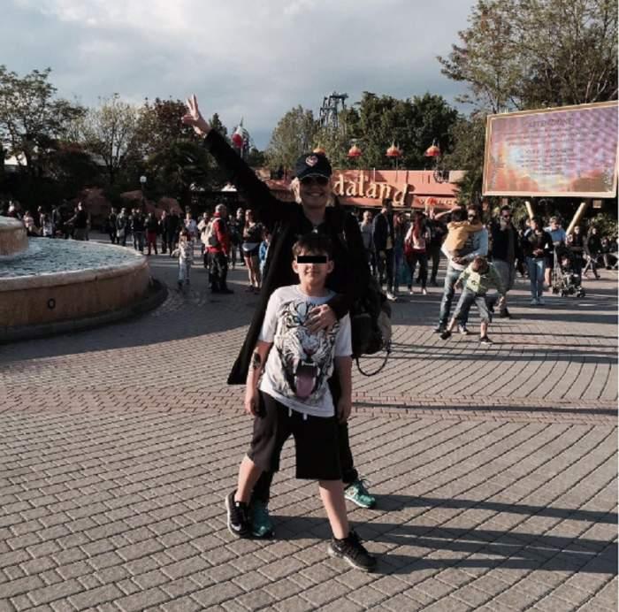 FOTO / Sărbătoare în casa Vicăi Blochina! Uite cum s-a pozat de ziua fiului său