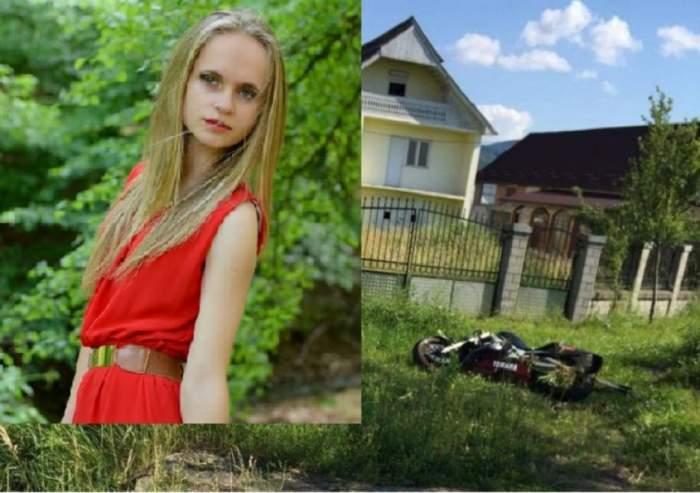 SFÂRŞIT CUMPLIT pentru o tânără de 17 ani din Satu Mare! Motocicleta pe care se afla s-a izbit frontal de un autoturism