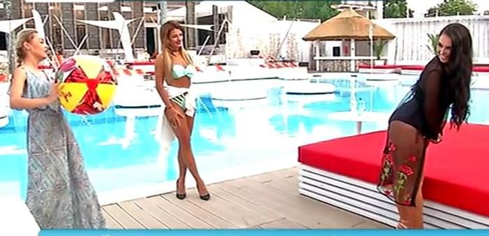 VIDEO / Kim Kardashian de România, proba de foc! Stă sau nu paharul pe posteriorul ei imens?