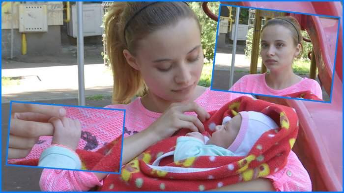 VIDEO / În loc să-și vadă de școală, o tânăra mămică a fost nevoită să pornească un război pentru bebelușul ei!