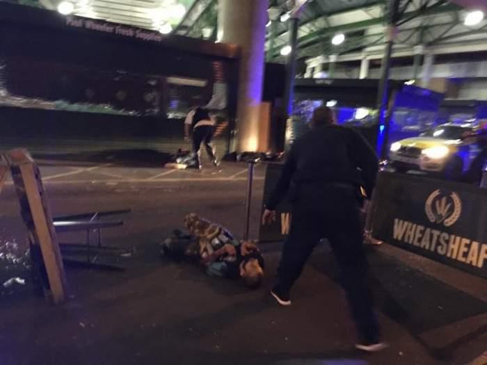 Primele imagini după atentatul din Londra. Zona arată TERIFIANT