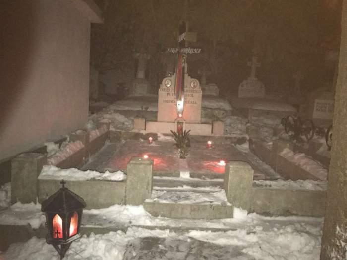 FOTO / Imagini cutremurătoare! Ce s-a întâmplat la mormântul Mărioarei Murărescu