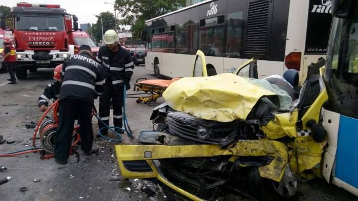 VIDEO / Accident TERIFIANT în Capitală! Doi bărbați au MURIT. Imaginile sunt înfiorătoare