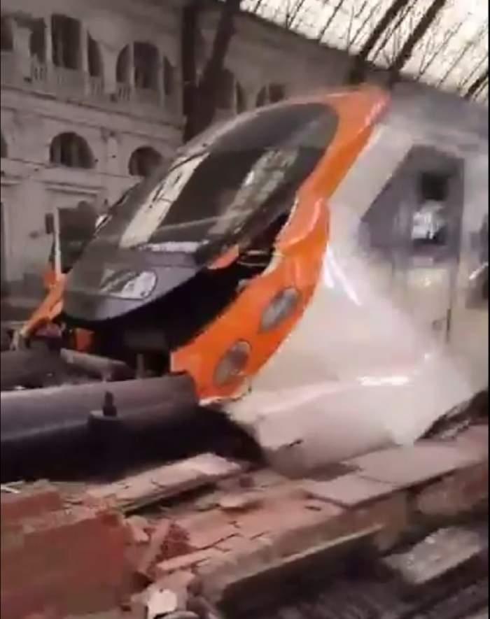 VIDEO / UPDATE: Accident feroviar în Barcelona! Sunt cel puţin 54 de victime, printre care şi un român