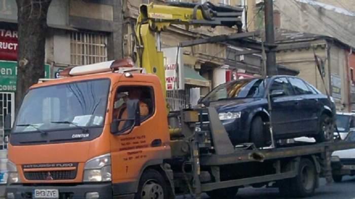 Anunţ important pentru şoferi! Primăria sectorului 3 a aprobat ridicarea mașinilor parcate neregulamentar