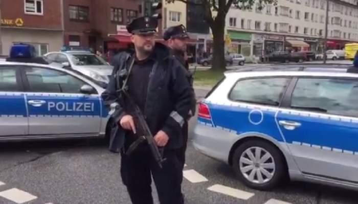 VIDEO / Atac ARMAT în Hamburg! Un bărbat a înjunghiat mai multe persoane