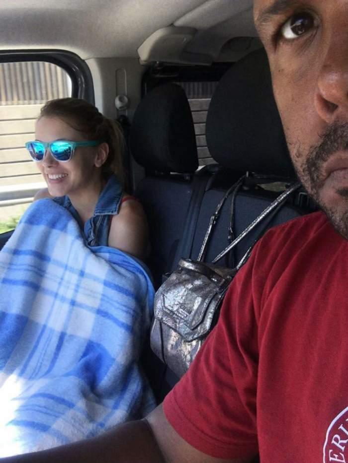 """FOTO / Cabral şi soţia lui, implicaţi într-un accident în Spania! Apel făcut pe Facebook: """"Am nevoie de ajutor"""""""