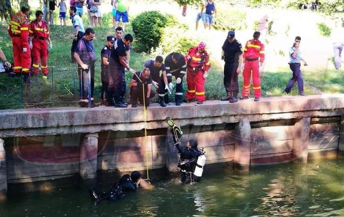 UPDATE: Imagini şocante / Incident îngrijorător în Bucureşti! Un bărbat a murit după ce a sărit în lac