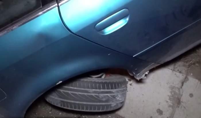 VIDEO / Grav accident în intersecţia MORŢII din Botoşani. Maşina în care se aflau trei măicuţe nu a oprit la semnul Stop