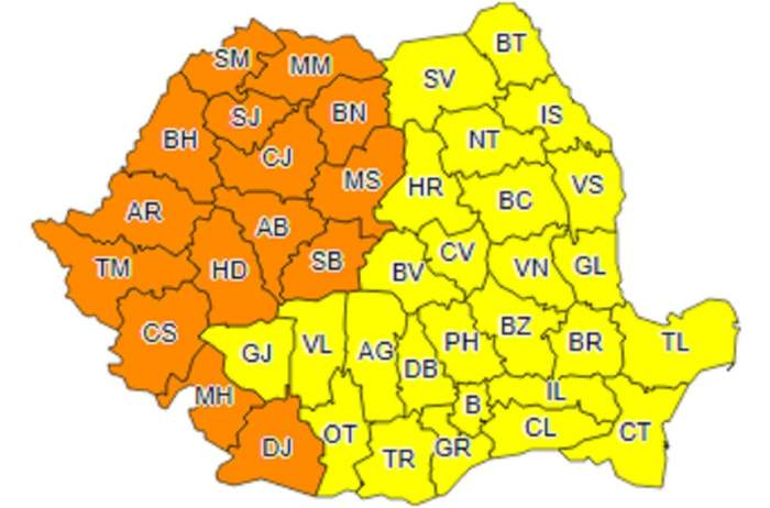 România se topeşte! Meteorologii au emis COD PORTOCALIU de caniculă