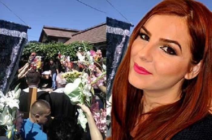 FOTO / Scene sfâşietoare la înmormântarea jurnalistei Alina Mohor. Sute de oameni au condus-o pe ultimul drum