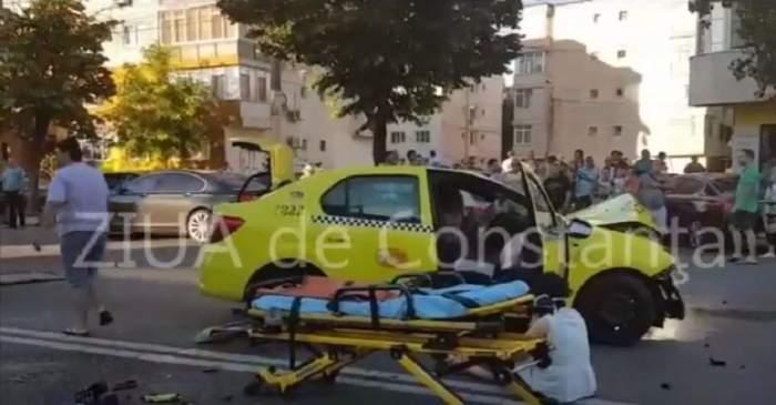 VIDEO / Accident GRAV în Constanța! Există cel puțin 5 victime, printre care se află și un copil