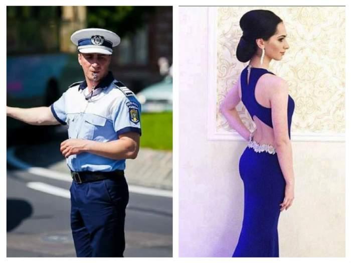 FOTO / Bomba sexy care i-a dat ruşine lui Marian Godină! Este printre primii 10 studenţi de la Academia de Poliţie