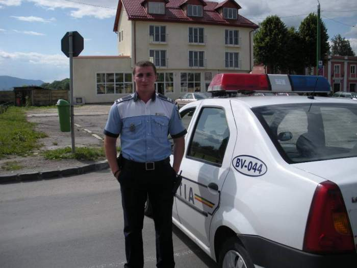 Poliţistul Godină, în faţa judecătorilor, după ce a picat a cincea oară la Academie!