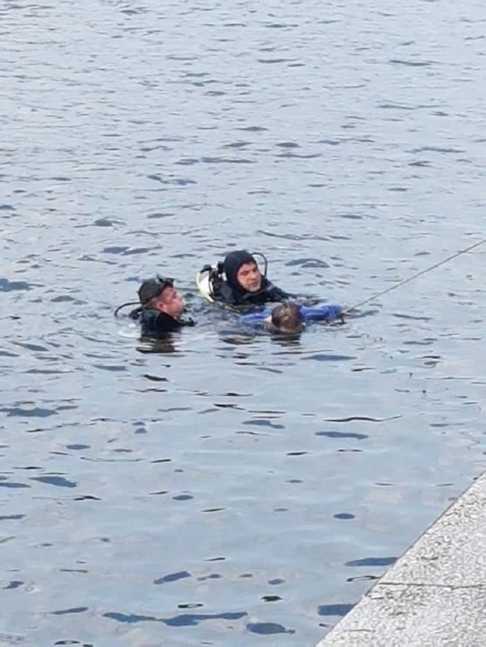 ŞOCANT! Un alt bărbat mort a fost găsit în râul Dâmboviţa, în Bucureşti
