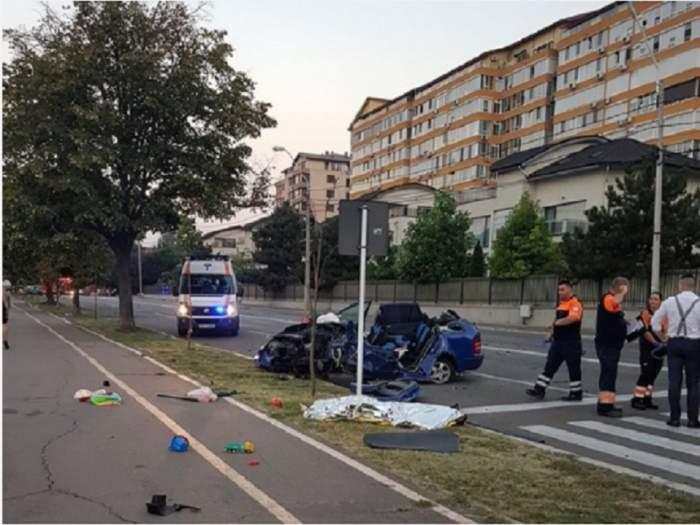 FOTO / Accident cumplit în Galaţi! Doi tineri şi-au pierdut viaţa