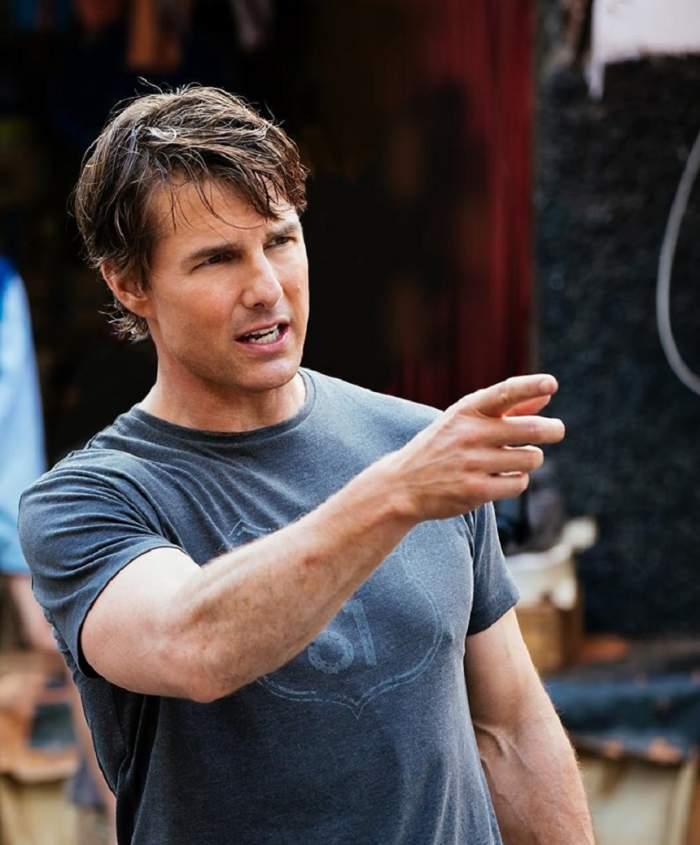 VIDEO / Tom Cruise şi-a rupt piciorul pe platourile de filmare! Tot incidentul a fost surprins de camere