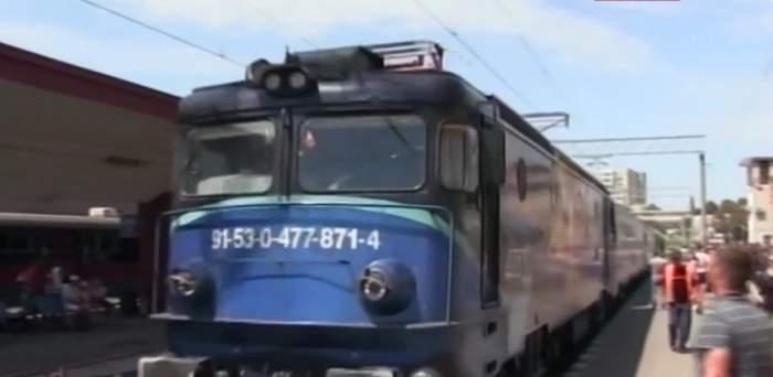 VIDEO / PRIMA POZĂ cu femeia care s-a aruncat în faţa trenului cu cele trei fiice! Ce a încercat mama Alexandrei să facă pentru ea