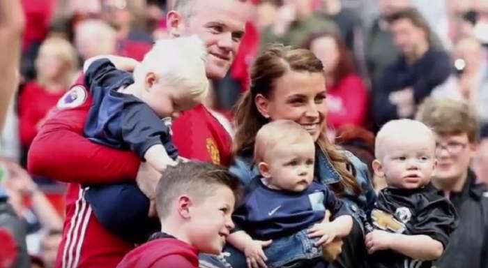 VIDEO / Încă un bebeluş în showbiz. Fotbalistul a anunţat că va deveni tată pentru a patra oară